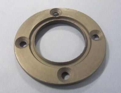 Lambretta Drive Side Oil Seal Retaining Plate with Groove - 19012006