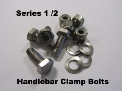 Lambretta handle bar clamp mounting bolt set for series 1 & 2 - 70300625