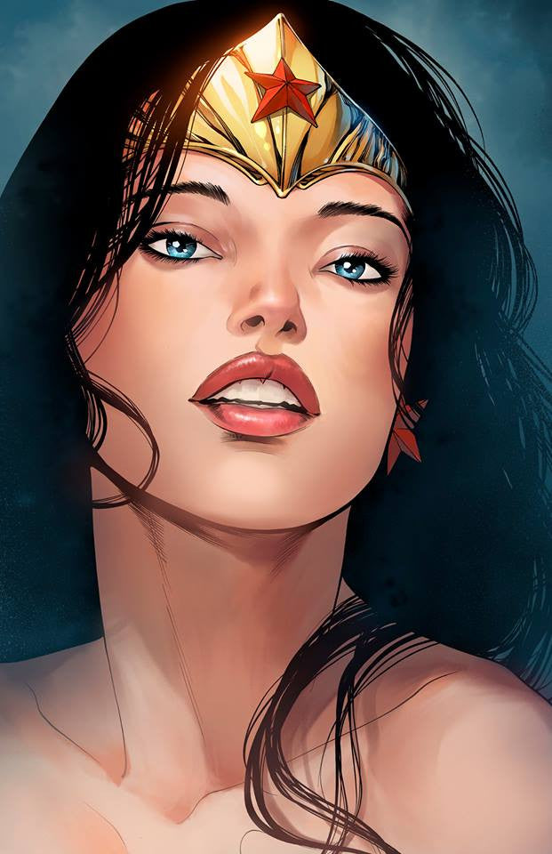 Wonder Woman portrait 11x17 print