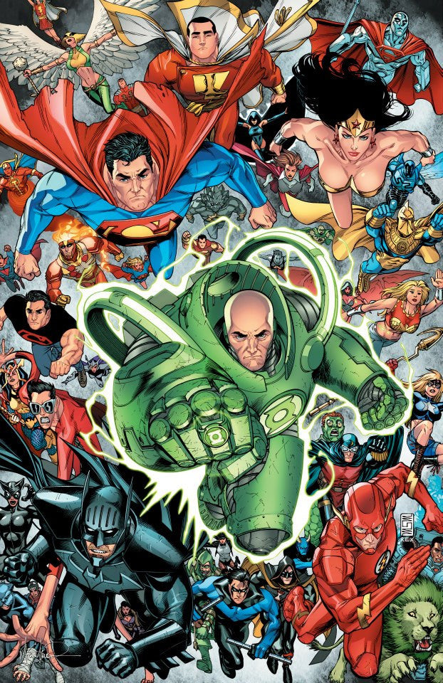Lex Luthor Justice League 11x17 print