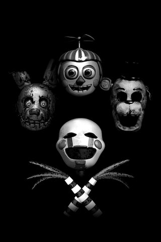 Five Nights at Freddie's QUEEN 11x17 print