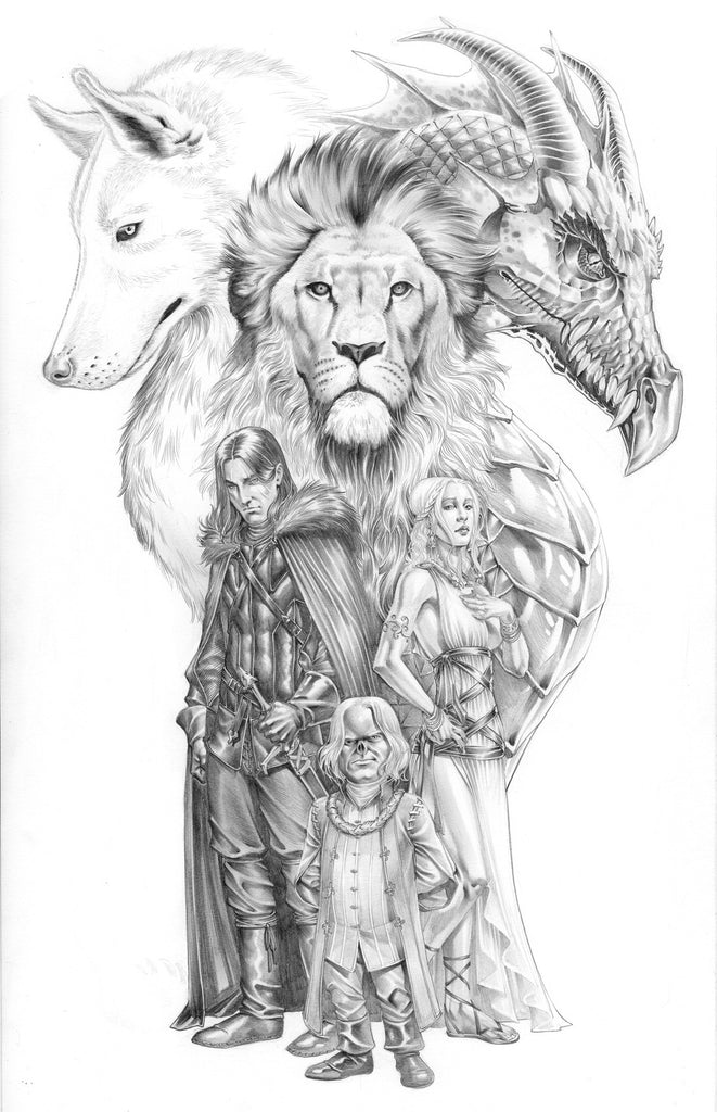 Game of Thrones Trinity print