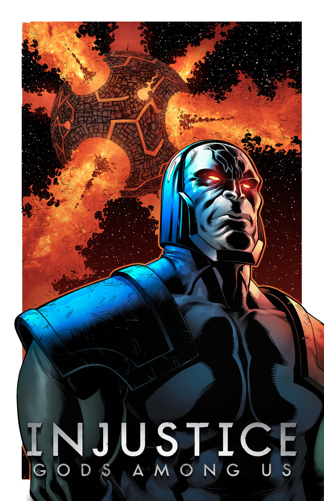 Darkseid Injustice 11x17 print