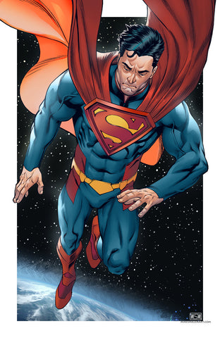 Superman Injustice 11x17 print