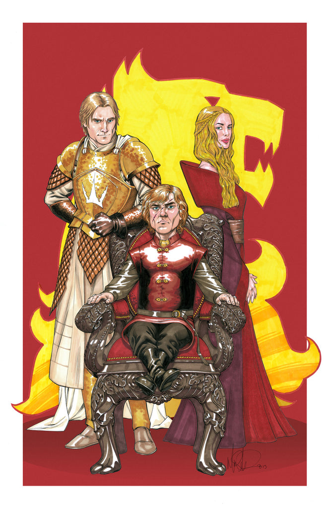 Lannisters 11x17 print