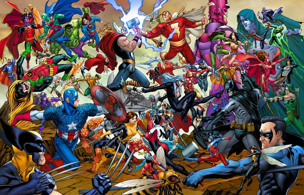Marvel Vs DC!