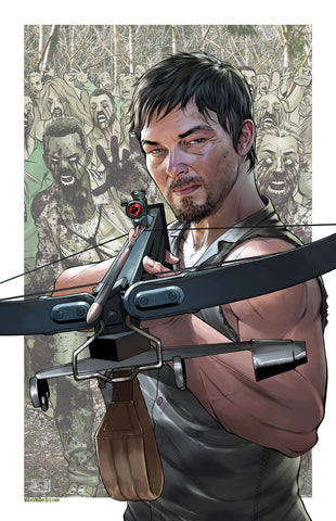 Daryl Walking Dead 11x17 print