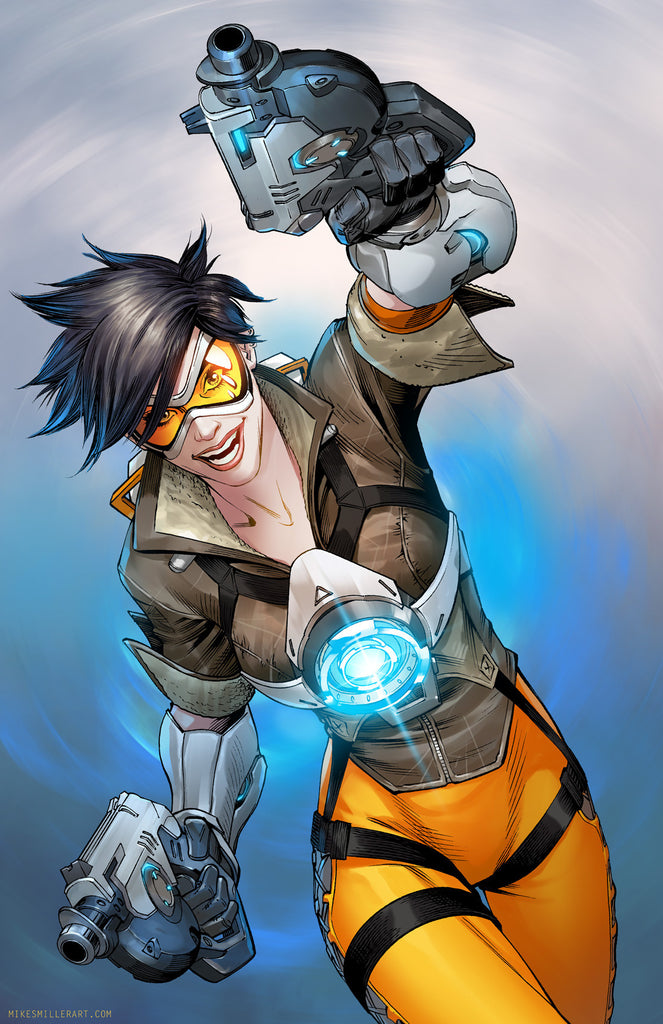 Overwatch: Tracer 11x17 print