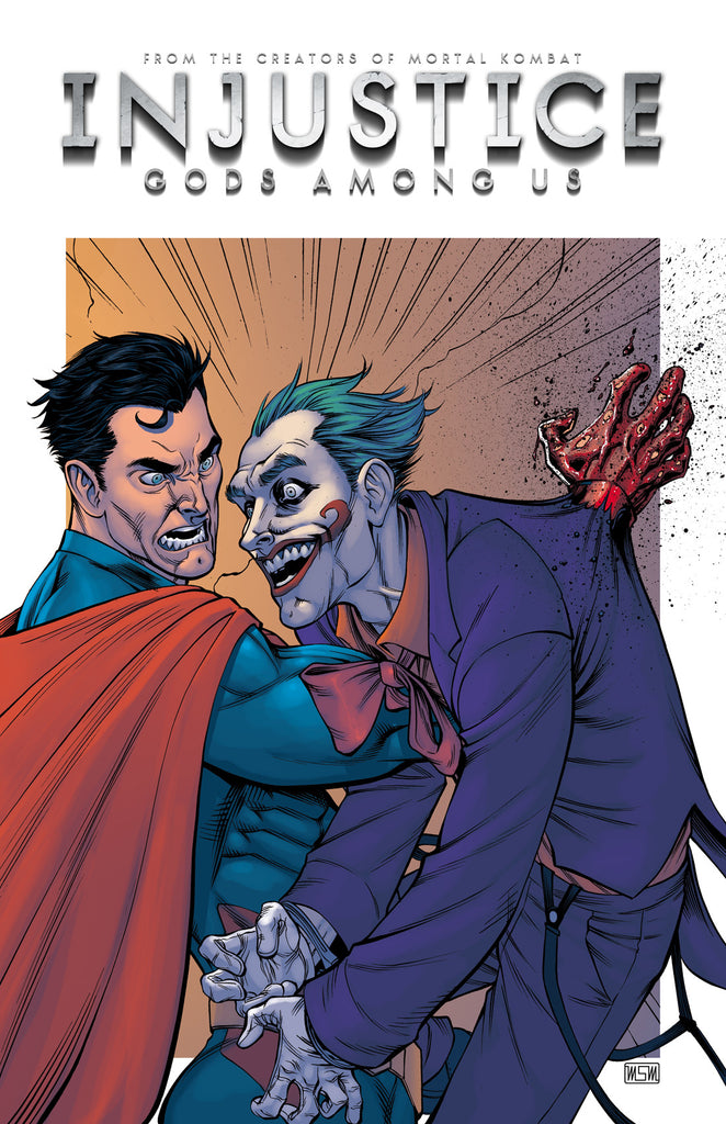 Superman vs Joker Injustice 11x17 print