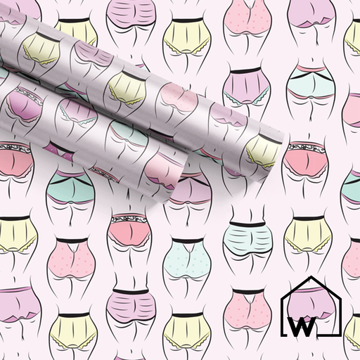 Sweet Cheeks Wrapping Paper
