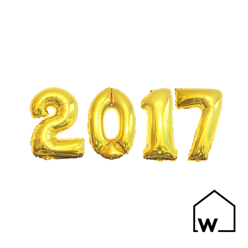"26"" Gold Foil Number Balloons (2017)"