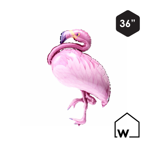 Pink Flamingo Balloon