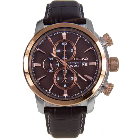 Seiko Chronograph Men's Watch SNAF52P1