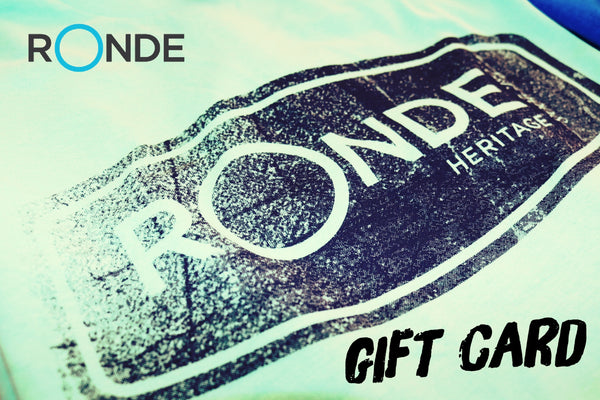 Ronde Gift Card