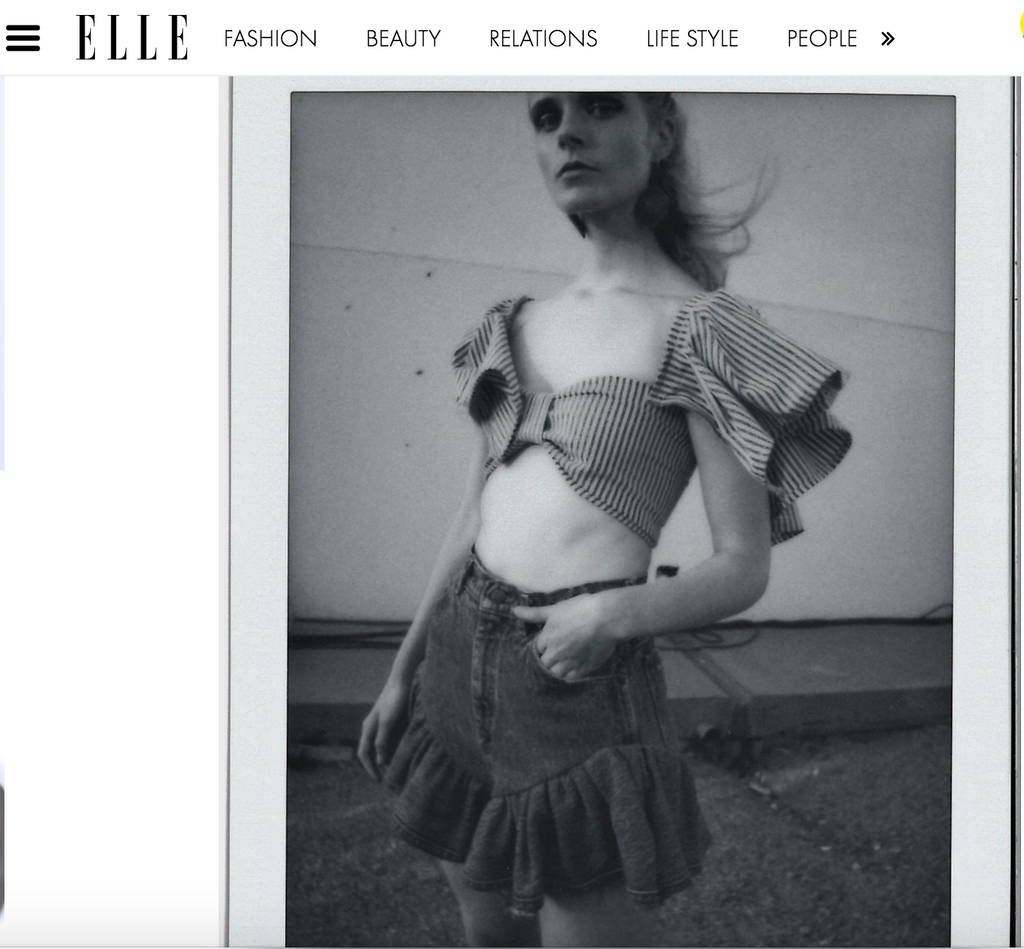 Elle Ukraine Maria Feature