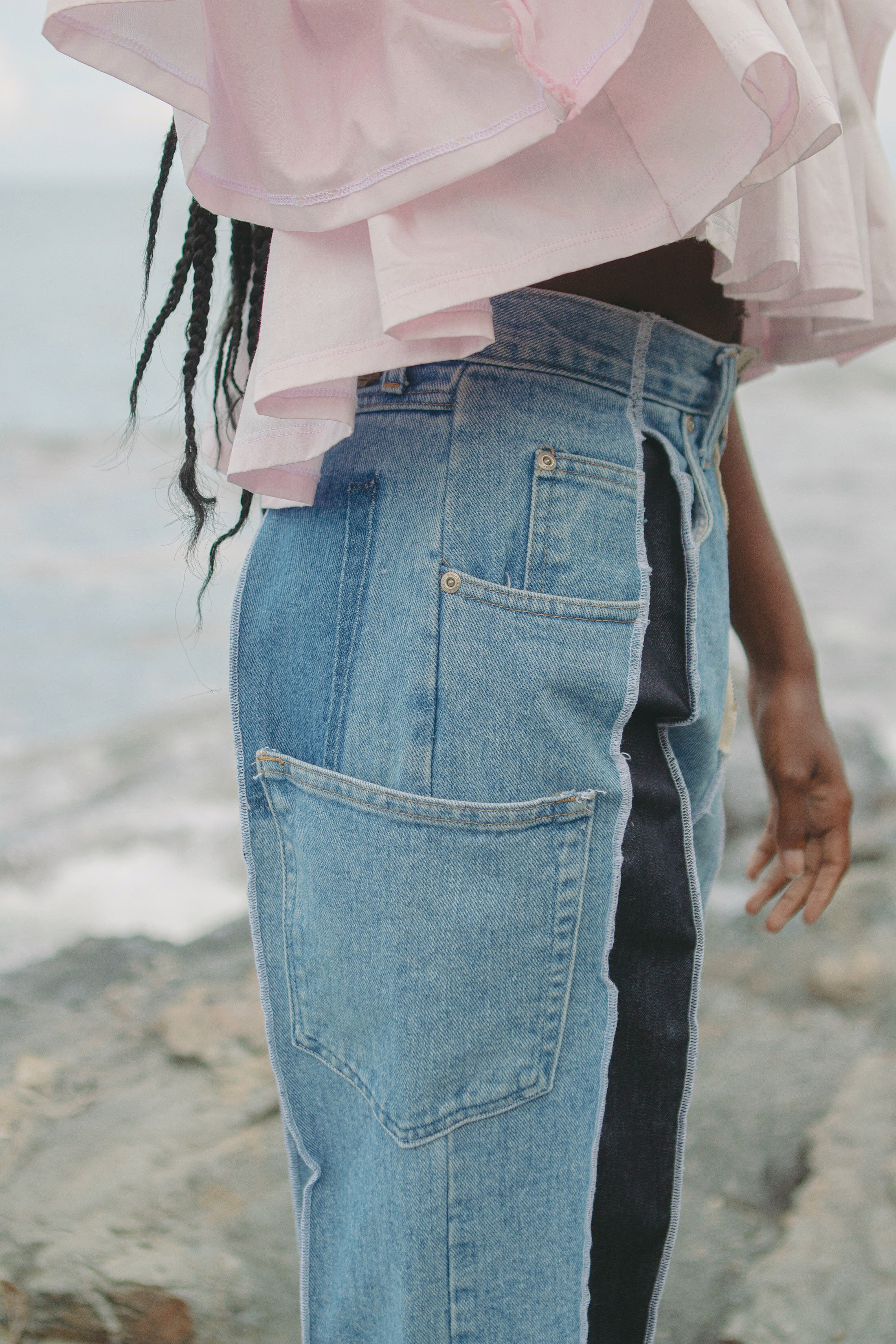 Two-Tone Denim