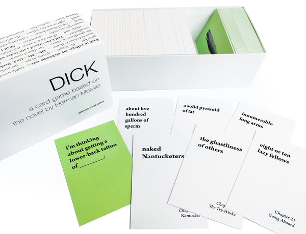 Dick: a card game based on the novel by Herman Melville