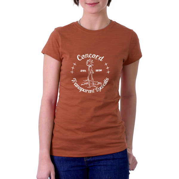 """Transparent Eyeball"" Emerson T-shirt (women's)"