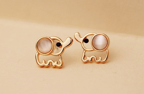 plate gold london jewellery new online elephant karma daisy earrings stud good