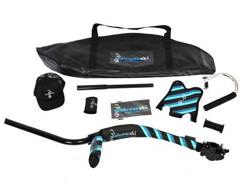 Barefoot Waterskiing with the Seahorseski Pro Pack detail
