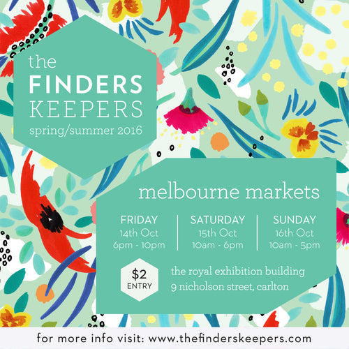 Finders Keepers ~ Melbourne