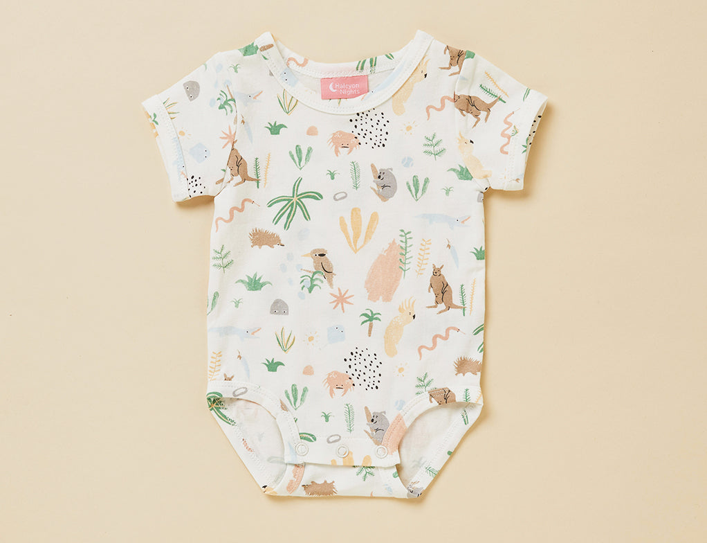 OUTBACK DREAMERS - SHORT SLEEVE BODYSUIT