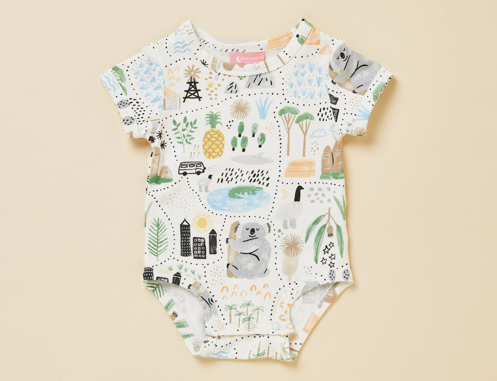 BIG ADVENTURES - SHORT SLEEVE BODYSUIT