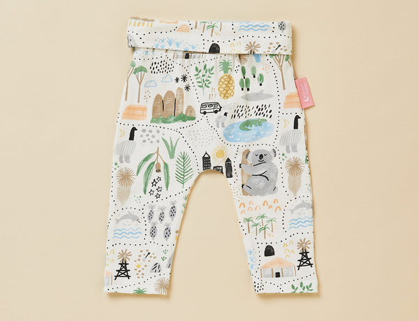BIG ADVENTURES - BABY YOGA LEGGING (pre order now shipping 23rd)