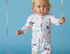 BABY LOVE - LONG SLEEVE ZIP SUIT