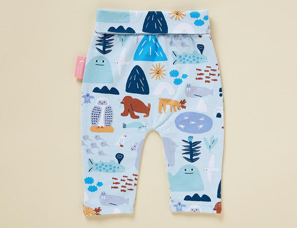 ARCTIC PARK - BABY YOGA LEGGINGS