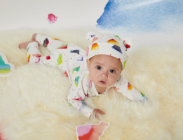 Candy Mountain Sleep Suit