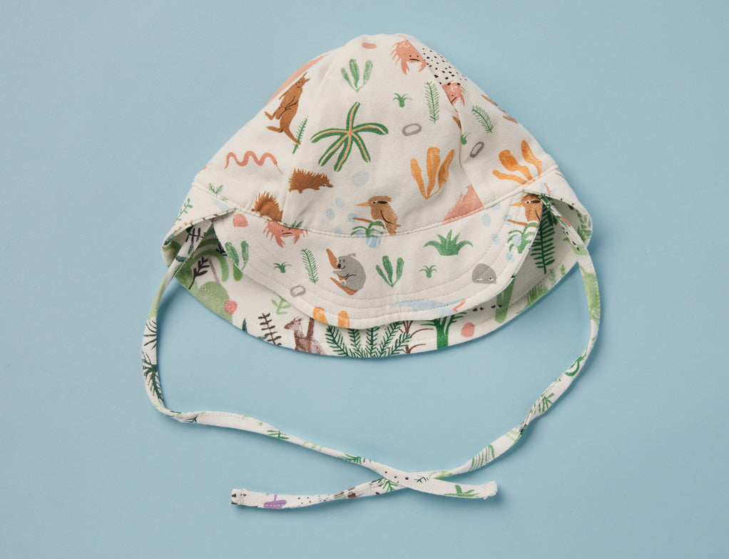 Outback Dreamers  - Reversible Sun Hat