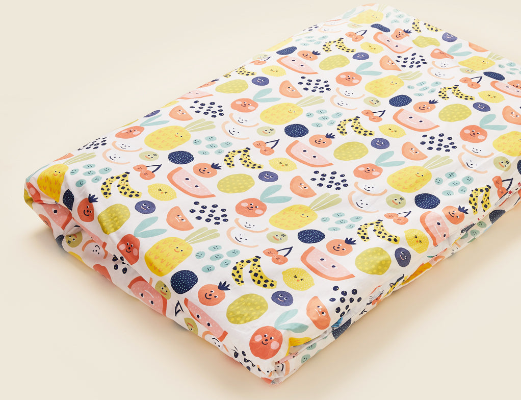 FRUIT TINGLE - SINGLE BED DUVET & PILLOW CASE