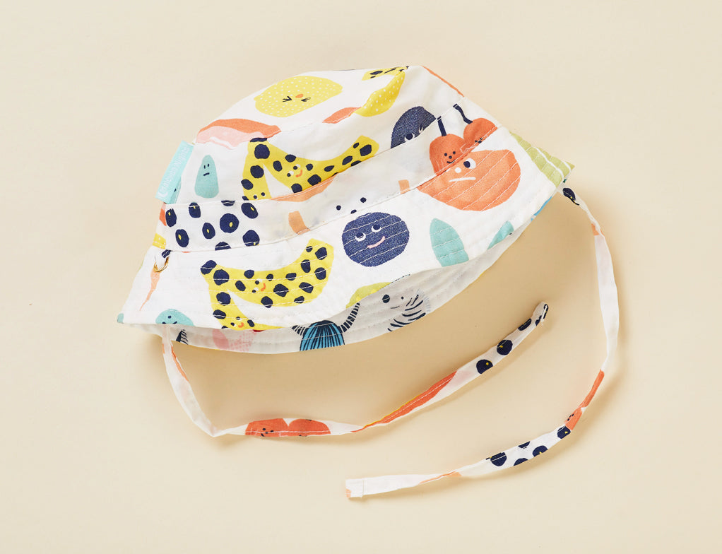 SUN DAYS REVERSIBLE HAT - FRUIT TINGLE