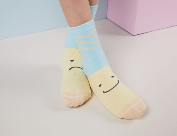 Socks - Moody - Yellow