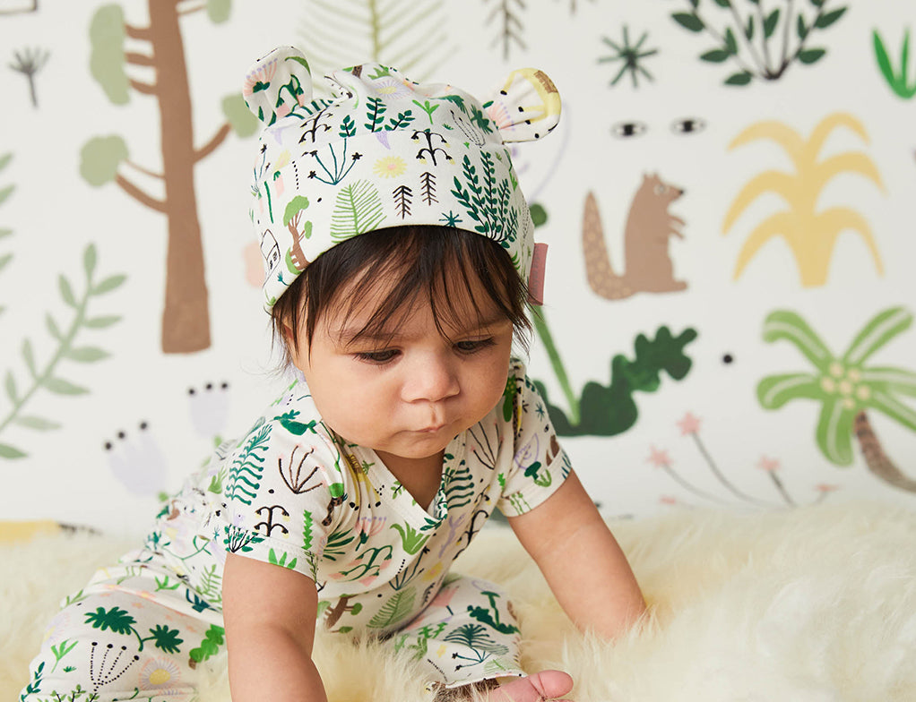 Secret Garden Lunar Baby Hat