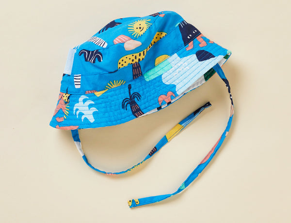 SUN DAYS REVERSIBLE HAT - MEGAFAUNA
