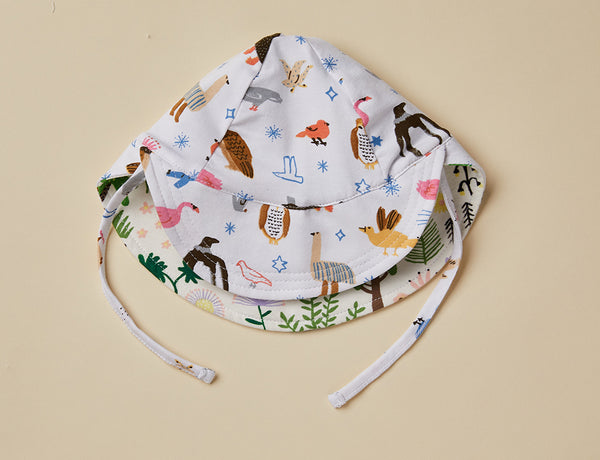 Reversible Sun Cap ~ High Flyin' Birds