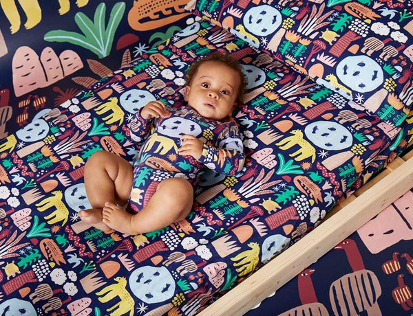 Kakadu ~ Fitted Cot Sheet