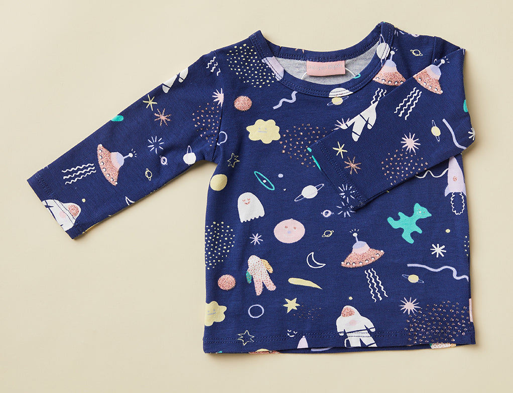 Long Sleeve Tee ~ Space Out