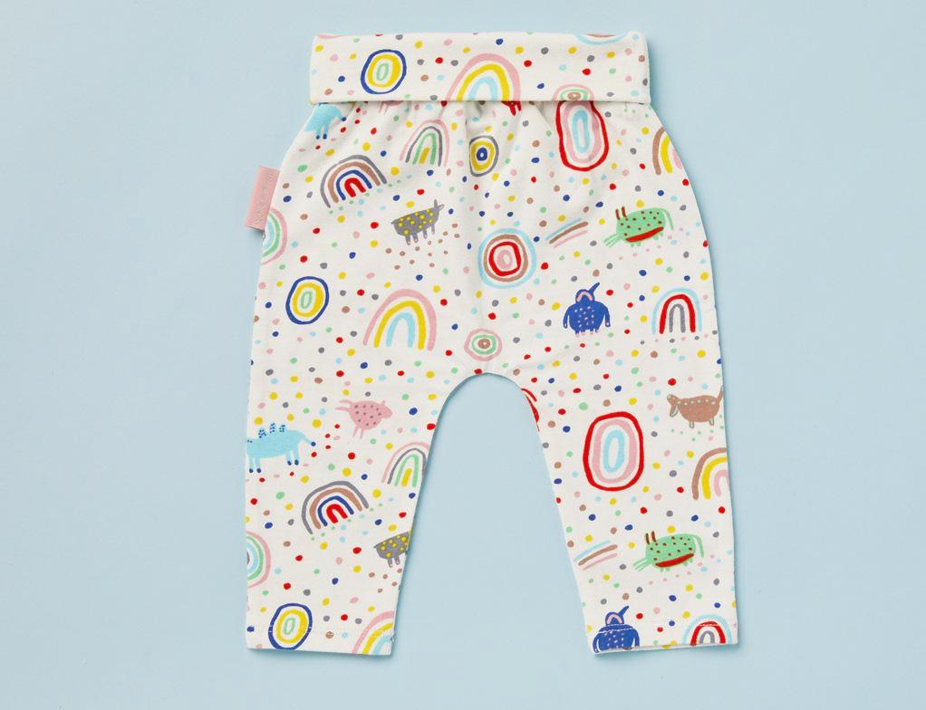 Baby Yoga Legging ~ Saturday Print