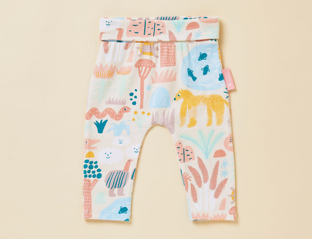 SUNSET KAKADU - BABY YOGA LEGGING
