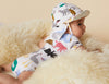 Reversible Sun Hat ~ Bush Dance Print