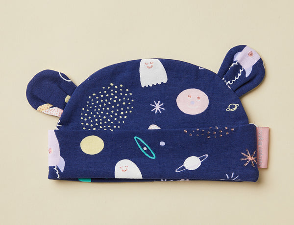 Lunar Baby Hat ~ Space Out