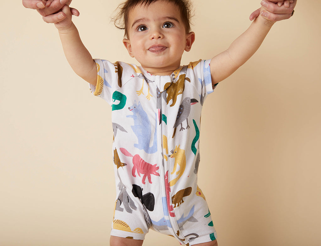 Bush Dance Summer Sleep Suit