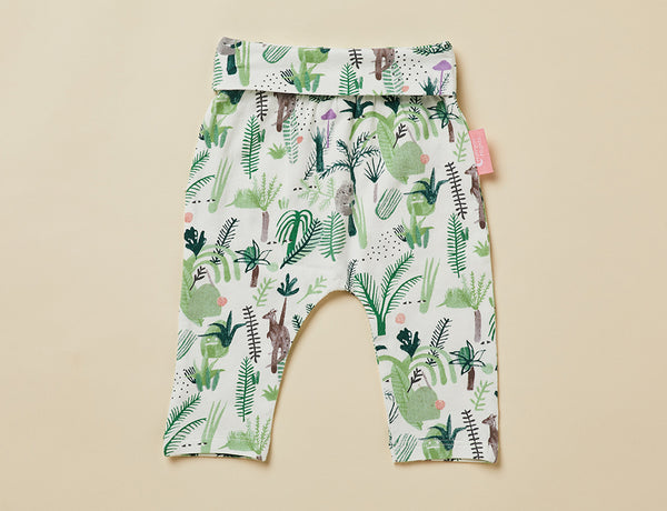 FERN GULLY - BABY YOGA LEGGING