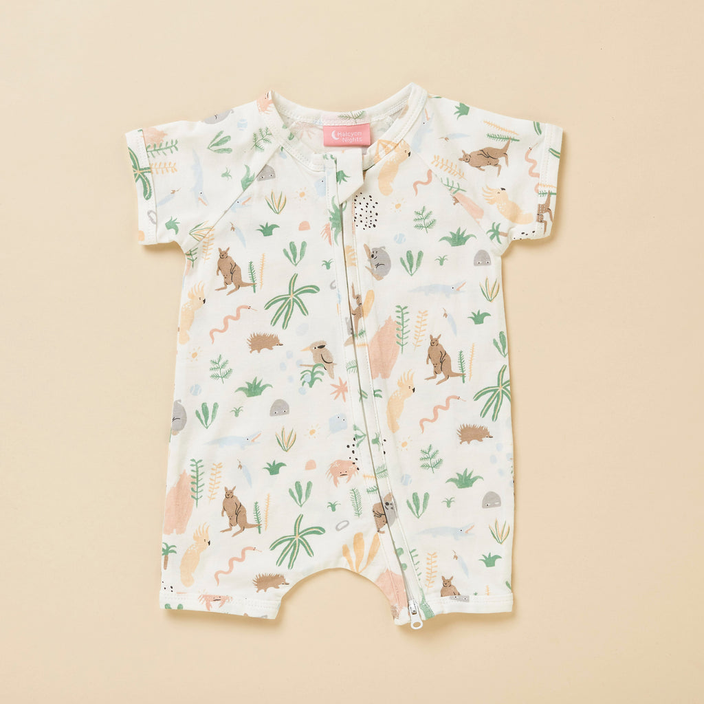 OUTBACK DREAMERS - SHORT SLEEVE ZIP SUIT