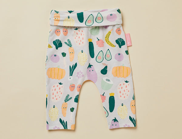 BABY YOGA LEGGINGS - WINTER GARDEN