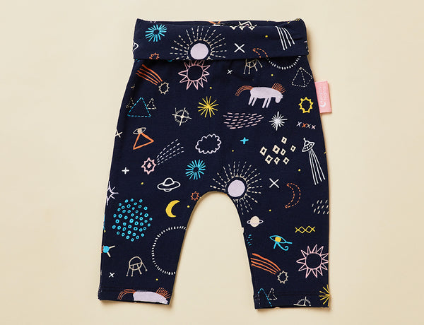 BABY YOGA LEGGING - MILKY WAY