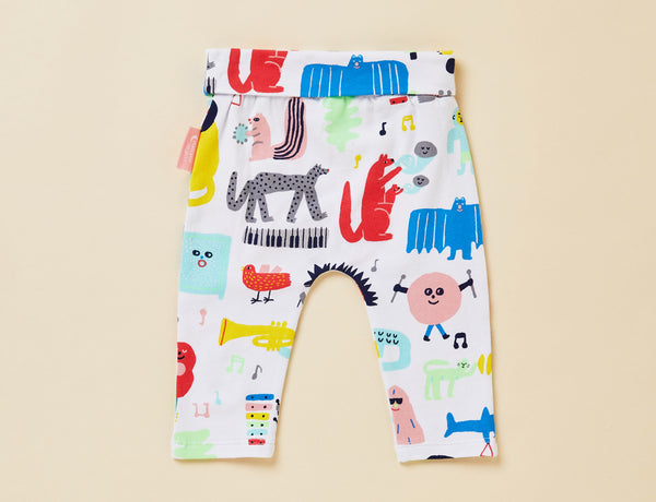 BABY YOGA LEGGING - BIG BAND PARTY